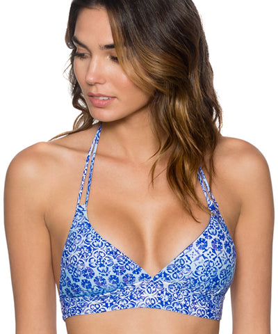 Swim Systems Dream On - Lovebirds Halter Bikini Top