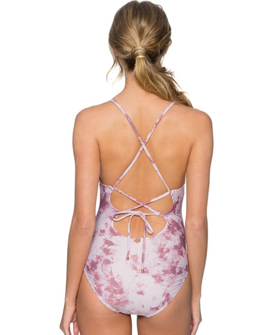 Swim Systems Dusty Rose - Spellbound One Piece Swimsuit
