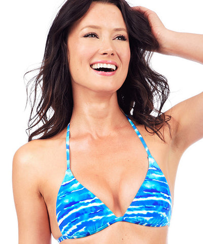 Voda Swim Envy Push Up String Bikini Top in Tahiti