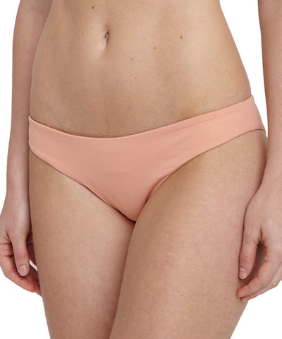 Eberjey - So Solid Annia Bikini Bottom in Sedona Blush - Beachbliss Swimwear & Apparel - 1