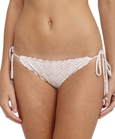 Eberjey - Zen Stones Avalon Bikini Bottom in Sedona Blush - Beachbliss Swimwear & Apparel - 1