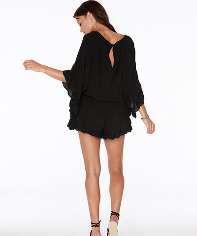 L*Space Emily Romper - Black