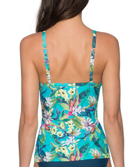 Sunsets Separates English Garden - Forever Underwire Twist Tankini Top