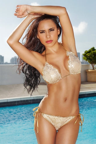 Chica Rica Bikini - Faberge Bikini - Beachbliss Swimwear & Apparel - 1