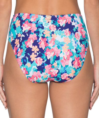 Sunsets Separates Flower Bed - The High Road High Waist Bikini Bottom