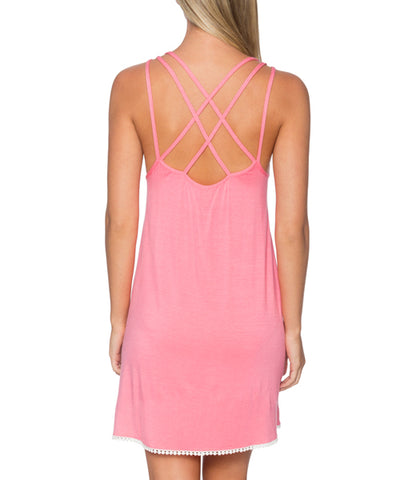 Sunsets Separates Flamingo - Star Gazer Cover Up Dress - Beachbliss Swimwear & Apparel - 2