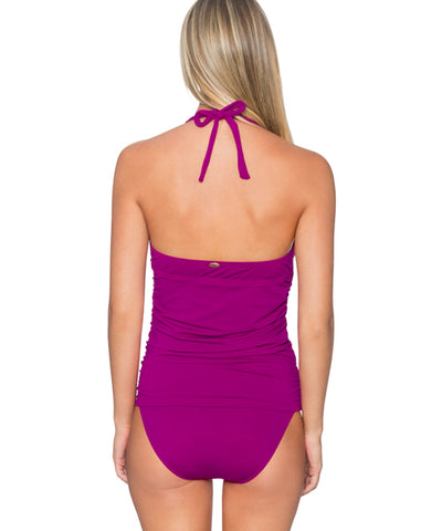 Sunsets Separates Foxglove - Harlow Shirred Tankini Top - Beachbliss Swimwear & Apparel - 2