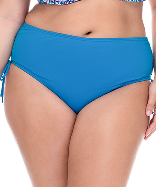 Curve By Sunsets French Blue - Divine High Hipster Bikini Bottom