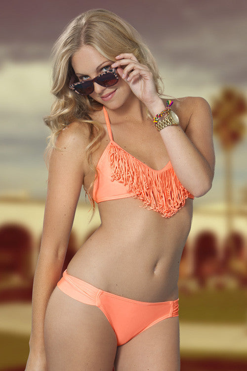 Gossip Swimwear Orange Dream Bikini - Beachbliss Swimwear & Apparel - 3