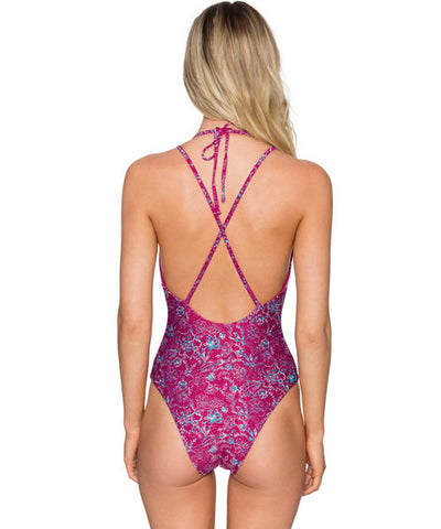 B. Swim Hana Batik - Lush One Piece Swimsuit