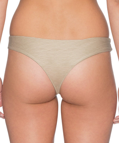B. Swim High Water Shell - Havana Flip Bikini Bottom