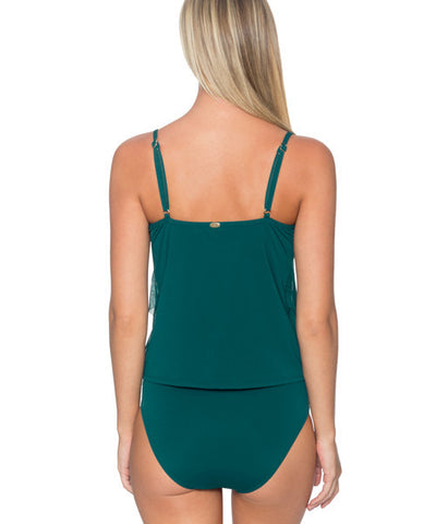 Sunsets Separates Jade - Ava Tiered Underwire Tankini