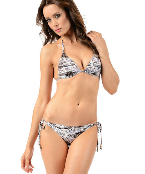 Voda Swim Envy Push Up String Bikini Top in Java - Beachbliss Swimwear & Apparel - 3