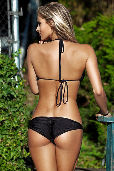 Jelly Swimwear - Scrunch Bikini Bottom - Beachbliss Swimwear & Apparel - 1