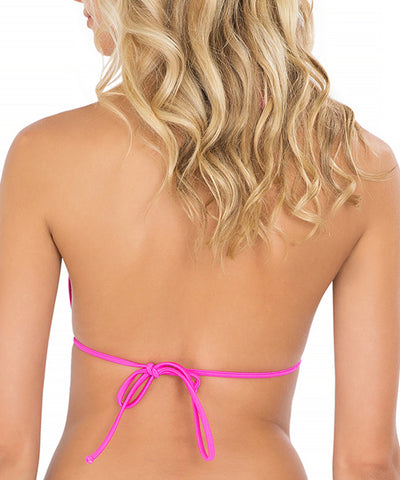 Luli Fama - Borrachera De Mar Zig Zag Cut Out Triangle Bikini Top
