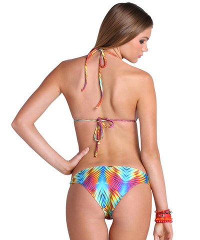 Luli Fama - Playa Verano Strappy Front Side Bikini Bottom - Beachbliss Swimwear & Apparel - 4