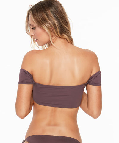L*Space Dixie Bikini Top - Pebble