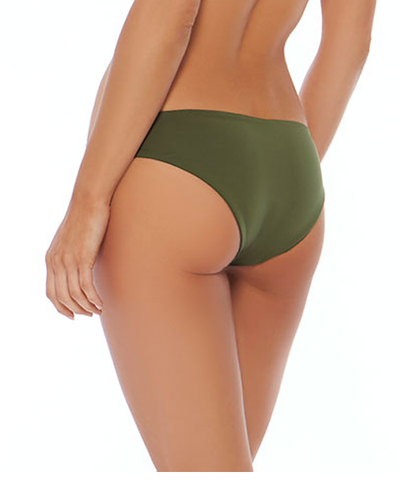 L*Space Sensual Solids Sandy Classic Bikini Bottom - Jungle - Beachbliss Swimwear & Apparel - 2