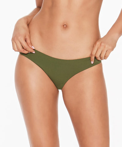 L*Space Deep Jungle Sandy Classic Bikini Bottom - Jungle