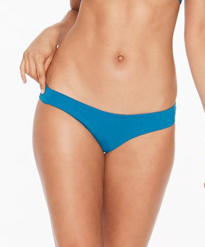 L*Space Sensual Solids Sandy Classic Bikini Bottom - Mediterranean - Beachbliss Swimwear & Apparel - 1