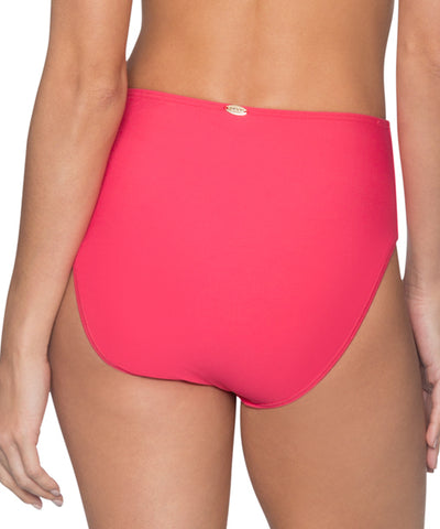 56136d5a3360e Sunsets Separates Lover's Coral - The High Road High Waist Bikini Bottom