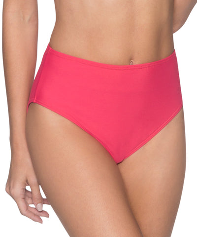 Sunsets Separates Lover's Coral - The High Road High Waist Bikini Bottom
