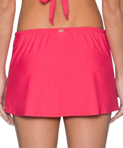 Sunsets Separates Lover's Coral - Kokomo Contemporary Swim Skirt Bikini Bottom