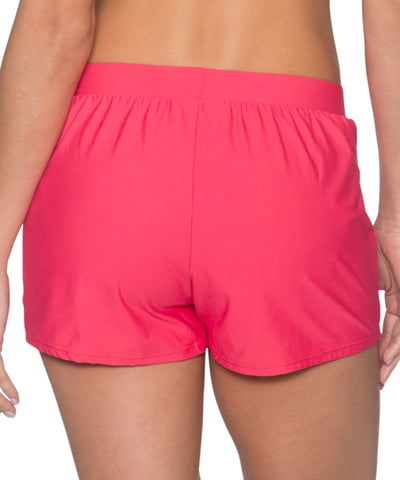 Sunsets Separates Lover's Coral - Marina Swim Shorts Bottom