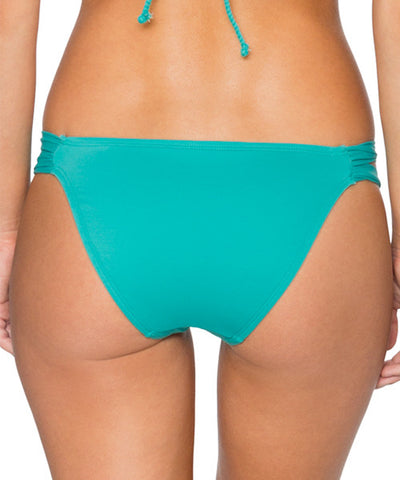 Swim Systems Marine Green - Day Dreamer Hipster Bikini Bottom - Beachbliss Swimwear & Apparel - 2