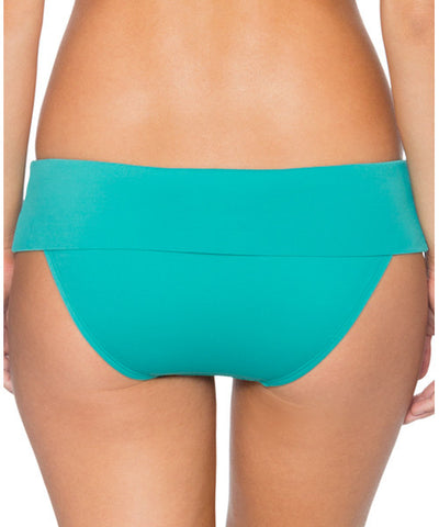 Swim Systems Marine Green - Outlaw Banded Bikini Bottom - Beachbliss Swimwear & Apparel - 2