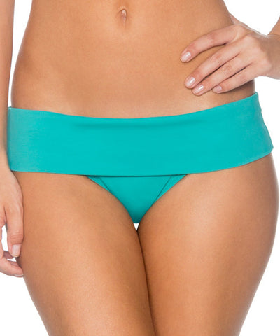 Swim Systems Marine Green - Outlaw Banded Bikini Bottom - Beachbliss Swimwear & Apparel - 1