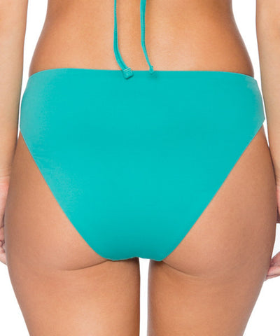 Swim Systems Marine Green - High Noon High Waist Bikini Bottom - Beachbliss Swimwear & Apparel - 2