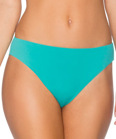Swim Systems Marine Green - High Noon High Waist Bikini Bottom - Beachbliss Swimwear & Apparel - 1