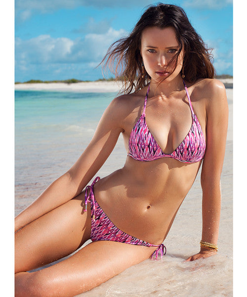 Voda Swim String Bikini Bottom in Maldives - Beachbliss Swimwear & Apparel - 5