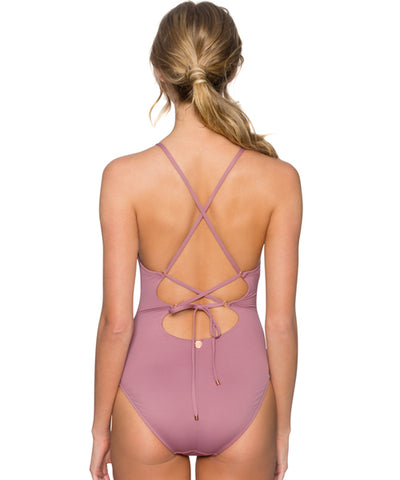 Swim Systems Mauvelous - Spellbound One Piece Swimsuit