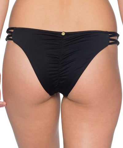 B. Swim Midnight - Palm Pucker Pant Bikini Bottom