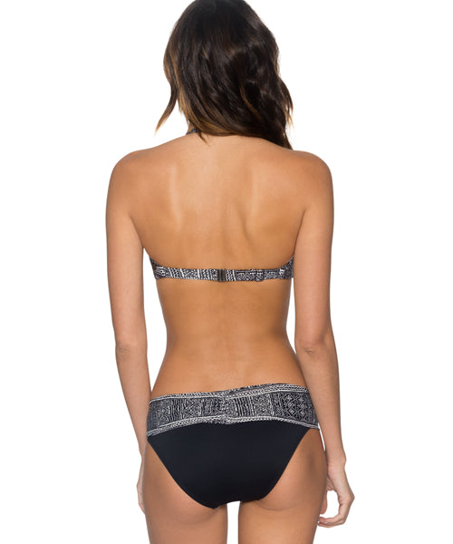 Swim Systems Midnight Safari - Trellis Bandeau Bikini Top