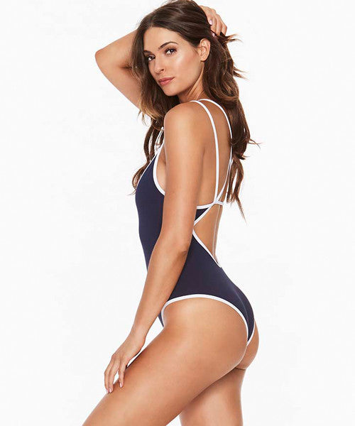 L*Space Anchors Away Dakota One Piece Swimsuit - Midnight Blue