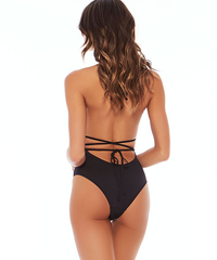 L*Space Maios Pamela One Piece Swimsuit - Black