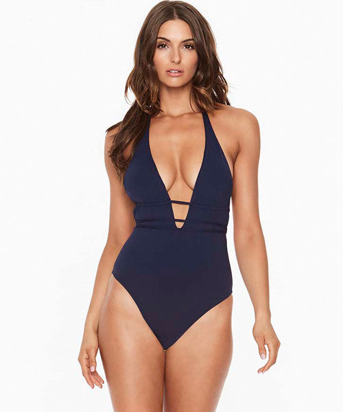 L*Space Maios Pamela One Piece Swimsuit - Midnight Blue