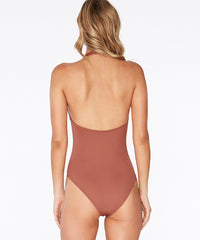 L*Space Color Block Stella One Piece Swimsuit - Sahara
