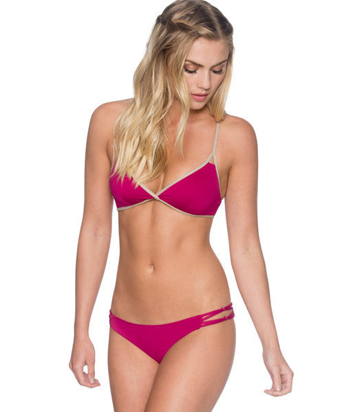 B. Swim Orchid - Palm Pucker Pant Bikini Bottom