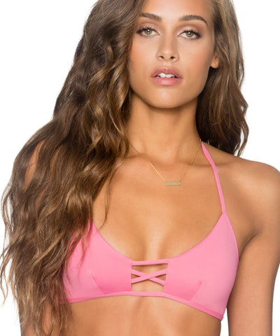 B. Swim Hoku Fields - North Shore Bra Triangle Bikini Top
