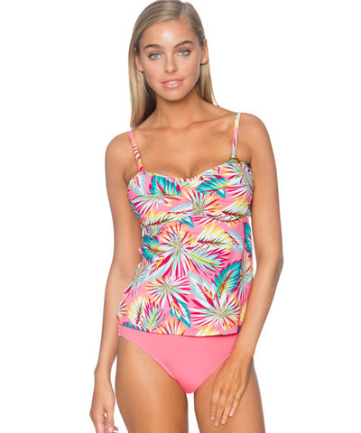 Sunsets Separates Palmetto - Iconic Twist Underwire Bandeau Tankini