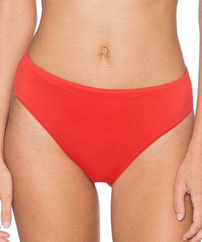 L*Space Polynesian Palm Tripp Bitsy Cut Bikini Bottom