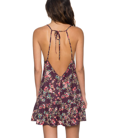 Sunsets Separates Rosewood Vines - Riviera Cover Up Dress