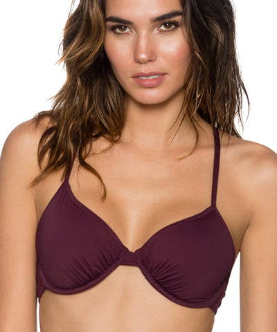 Sunsets Separates Rosewood - Jayne X-Back Bikini Top
