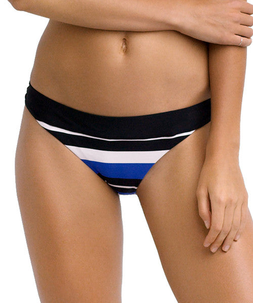 Seafolly - Walk The Line Banded Hipster Bikini Bottom - Beachbliss Swimwear & Apparel - 1