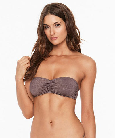 L*Space Shine On Me Kaella Bikini Top - Pebble