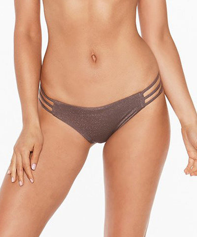 L*Space Shine On Me Kennedy Classic Bikini Bottom - Pebble